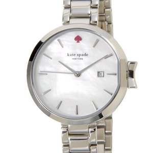 オータムバーゲン ケイトスペード kate spade レディース 腕時計 KSW1267 PARK ROW パーク ロウ シルバー 新品 【送料無料】|s-select