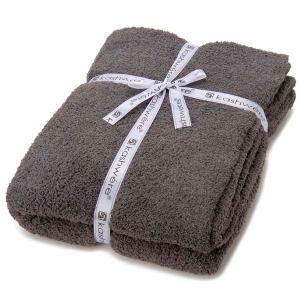 カシウェア kashwere ブランケット チャコール グレー T-30-07-52 BLANKET シングルサイズ 毛布 タオルケット ひざ掛け 結婚祝い ギフト s-select