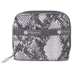 レスポートサック 二つ折り財布 LeSportsac 6505 E314 クレア チャザラ パイソン・ヘビ柄 コンパクト財布