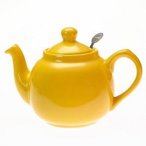 ロンドンポタリー London Pottery ティーポット 2カップ イエロー 580041 2CUP 英国 ブランド|s-select