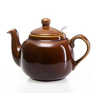 ロンドンポタリー London Pottery ティーポット 4カップ ブラウン 580133 4CUP 英国 ブランド|s-select