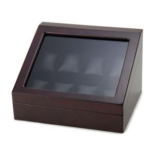 時計収納ケース LOSP N8WD 腕時計8本収納 ウォッチボックス 収納ボックス ワインレッド|s-select