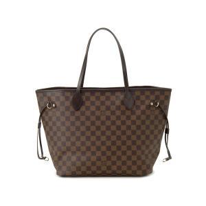 Louis Vuitton ルイヴィトン トートバッグ N41603 ネヴァーフルMM ダミエ エベヌ ローズ・バレリーヌ【送料無料】|s-select