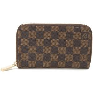 ルイヴィトン LOUIS VUITTON 60028 長財布 ダミエ ブラウン ジッピー・コンパクトウォレット ブランド s-select