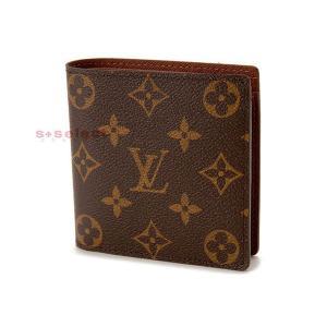 ルイヴィトン LOUIS VUITTON モノグラム ポルトフォイユマルコ 二つ折り財布 smtb-m ブランド|s-select