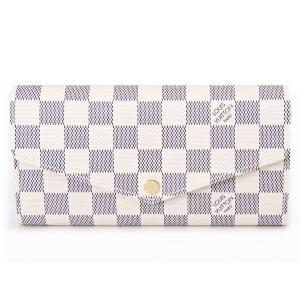 ルイヴィトン LOUIS VUITTON 長財布 N63208 ダミエ・アズール ポルトフォイユ・サラ ブランド|s-select