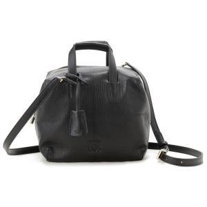 ロエベ LOEWE ハンドバッグ 359.70.J22 1100 オリガミ 2WAY ショルダーバッグ ブラック レディース バッグ ブランド 送料無料 新品