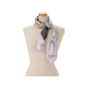 ロエベ LOEWE シルク スカーフ 918.01.603.rosa ブランド【送料無料】 s-select