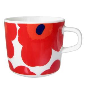 マリメッコ Marimekko コーヒーカップ 63429 001 UNIKKO ウニッコ レッド コップ 北欧ブランド|s-select