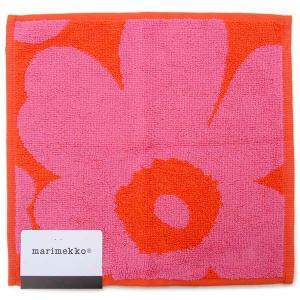マリメッコ Marimekko ミニタオル ハンカチ ウニッコ レッド 63837-330 UNIKKO 25cm×25cm ハンドハオル|s-select