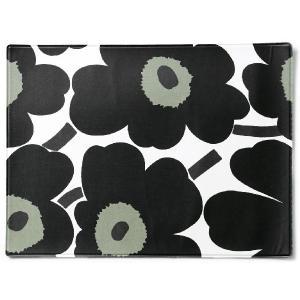 マリメッコ ランチョンマット 67629-0301 Marimekko ウニッコ ブラック/ホワイト キッチン雑貨/テーブルマット|s-select