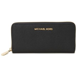 マイケルコース MICHAELKORS 財布 32S3GTVE3L 001 ラウンドファスナー長財布 ブラック レディース ブランド|s-select
