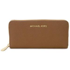 マイケルコース MICHAEL KORS ラウンドファスナー長財布 32S3GTVE3L-230 ラゲージ レディース ブランド|s-select