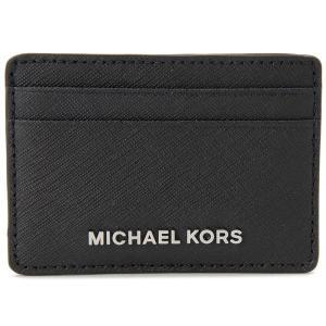 MICHAEL KORS マイケルコース カードケース 32S4STVD1L-001 パスケース 定期入れ ブラック|s-select
