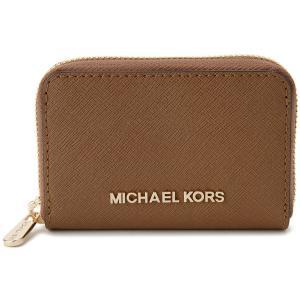 マイケルコース MICHAEL KORS コインケース 35S8GTVZ2L-230 小銭入れ カードケース ブラウン レディース 財布|s-select