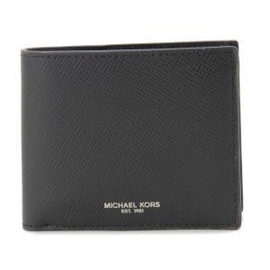 MICHAEL KORS マイケルコース 二つ折り財布 39F5LHRF3L-001 ブラック メンズ|s-select