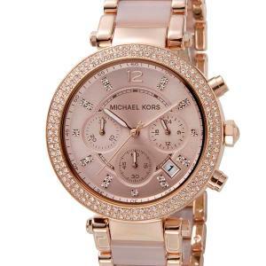 マイケルコース MICHAEL KORS 腕時計 レディース ローズゴールド×ピンク MK5896|s-select