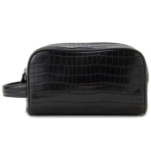 monte SPIGA モンテスピガ セカンドバッグ メンズ クラッチバッグ クロコ型押し ブラック MOSG11568DBK|s-select