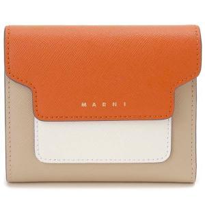 マルニ MARNI 二つ折り財布 PFMO0052U8 Z436B コンパクト財布|s-select