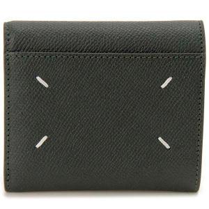 メゾンマルジェラ Maison Margiela 三つ折り財布 グリーン 55UI0296P0399T7170 メンズ レディース|s-select