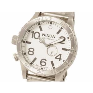 訳あり BOX汚れ ニクソン NIXON 51-30 SSブレス ホワイト a057100 ブランド s-select