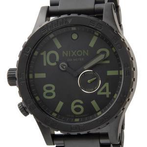 訳あり BOX汚れ ニクソン 腕時計 THE 51-30 フィフティーワンサーティー 300m防水 ブラック A057-1042 メンズ ウォッチ NIXON ブランド s-select