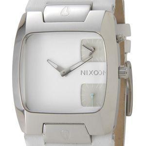 ニクソン NIXON バンクスレザー ホワイト メンズ 腕時計 BANKS LEATHER WHITE/WHITE A086 793 ブランド s-select