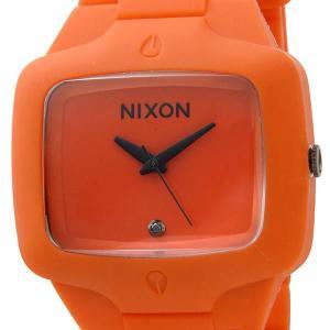 訳あり BOX汚れ ニクソン NIXON メンズ 腕時計 ラバープレイヤー PLAYER A139-211 オレンジ ブランド s-select