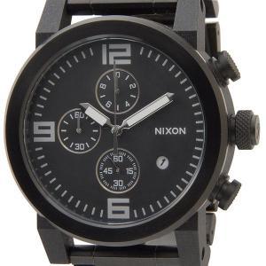 訳あり BOX汚れ ニクソン NIXON クロノグラフ NA347001 ライドSS(RIDE SS) ブラック メンズ腕時計 ブランド s-select