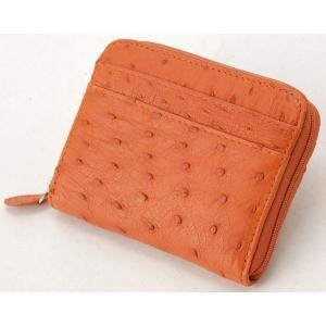 ロダニア RODANIA オーストリッチ コンパクト財布 OKN1887HOR 高級皮革|s-select