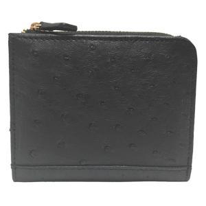 ロダニア RODANIA OKN2238 オーストリッチ コンパクト財布 【送料無料】 s-select