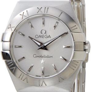 オメガ OMEGA 腕時計 123.10.24.60.02.001 レディース シルバー ブランド【送料無料】|s-select