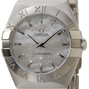 オメガ OMEGA 腕時計 123.10.24.60.05.001 コンステレーション レディース ホワイトシェル ブランド【送料無料】|s-select