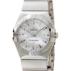 オメガ OMEGA コンステレーション ブラッシュ 123.10.27.60.05.001 ホワイトシェル レディース 腕時計  新品|s-select