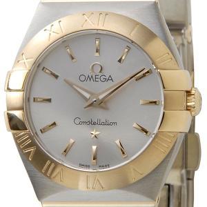 オメガ OMEGA コンステレーション レディース腕時計 12320246002002 シルバー/ゴールド ブランド|s-select