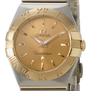 オメガ OMEGA 123.20.24.60.08.001 コンステレーション ブラッシュ ゴールド/シルバー コンビ レディース【送料無料】|s-select