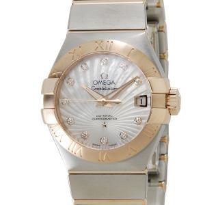 オメガ 123.20.27.20.55.001 OMEGA コンステレーション ブラッシュ ダイヤ レディース 腕時計|s-select