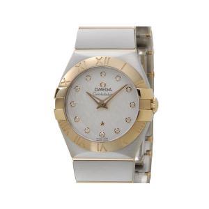 オメガ OMEGA コンステレーション 123.20.27.60.52.001 ブラッシュ クォーツ 12Pダイヤ イエローゴールド 腕時計 レディース【送料無料】 s-select
