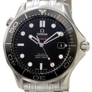 オメガ OMEGA 212.30.41.20.01.003 シーマスター ブラック メンズ 腕時計|s-select