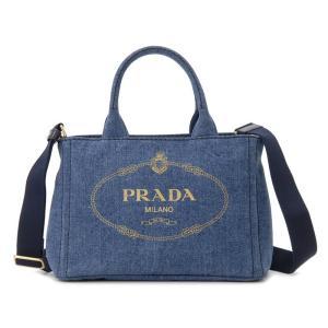 プラダ PRADA トートバッグ 1BG439 AJ6 F0008 CANAPA カナパ 2WAY ショルダーバッグ ブルー レディース 新品|s-select