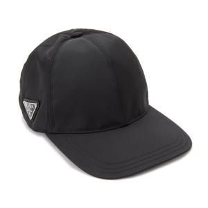 プラダ PRADA 帽子 ベースボールキャップ Sサイズ 1HC274 2B15 F0002 ナイロン キャップ メンズ/レディース|s-select