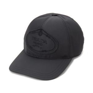 プラダ PRADA 帽子 ベースボールキャップ Mサイズ 1HC274 820 F0002 ナイロン キャップ メンズ/レディース|s-select