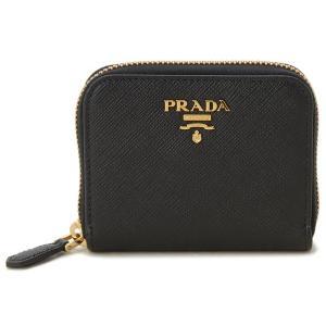 プラダ PRADA コインケース 小銭入れ 1MM268-QWA-F0002 サフィアーノ ブラック s-select