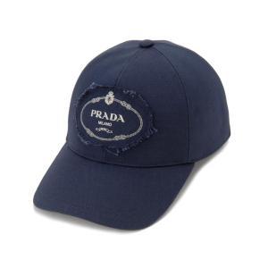 プラダ PRADA キャップ 2HC274 010 F0216 ベースボールキャップ 帽子 ネイビー メンズ レディース 新品 【ポイント10倍 2/15までP10】【送料無料】|s-select