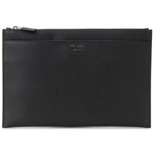 プラダ PRADA クラッチバッグ 2NG001-2FAD-F0002 SAFFIANO ブラック ビジネスバッグ/セカンドバッグ