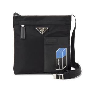 PRADA プラダ ショルダーバッグ 2VH0552B2Y F014B ナイロン ブラック メンズ 新品 【送料無料】|s-select