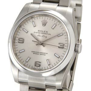 ロレックス ROLEX 114200 SV-AR エアキング...