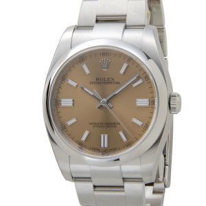 ロレックス ROLEX 116000 WTG オイスターパーペチュアル ホワイトグレープ メンズ 腕時計|s-select