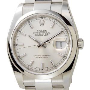 ロレックス ROLEX 116200 デイトジャスト シルバー メンズ 腕時計 ブランド 送料無料 新品