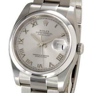 ロレックス ROLEX 116200 GY-R デイトジャスト グレー ローマ メンズ 腕時計 116200 ブランド 送料無料 新品